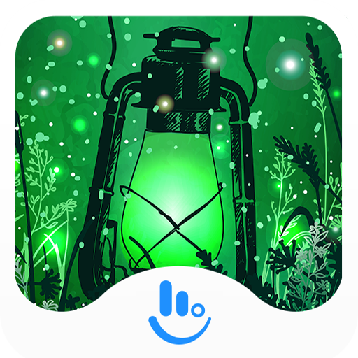 Green Fireflies Keyboard Theme 生活 App LOGO-硬是要APP