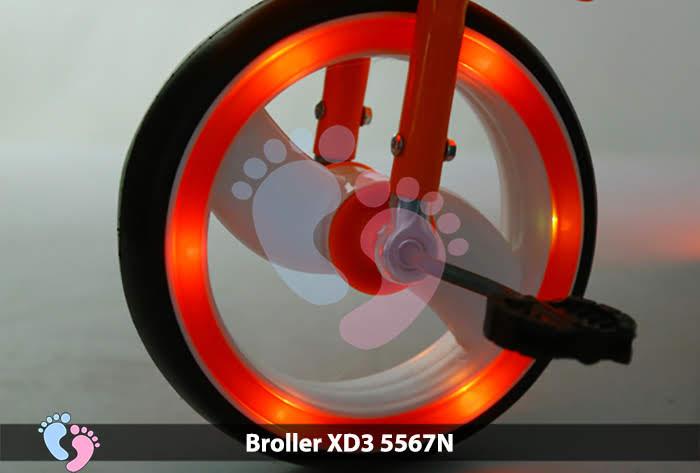 đèn bánh xe đạp 5567N