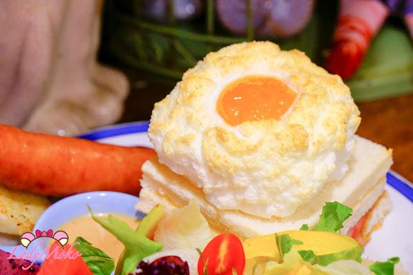 必吃雲朵上的太陽招牌早午餐&自製半熟蛋咖哩,謝謝DOUMO,中永和美食