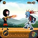 Stickman War - stickman shooting game icon