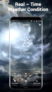 Local Weather Forecast (Free Clock Weahter Widget) - náhled