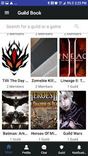 Guild Book - náhled