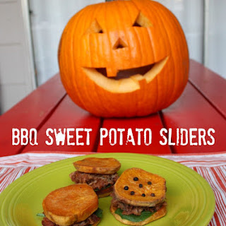 Delicious BBQ Pork & Sweet Potato Sliders