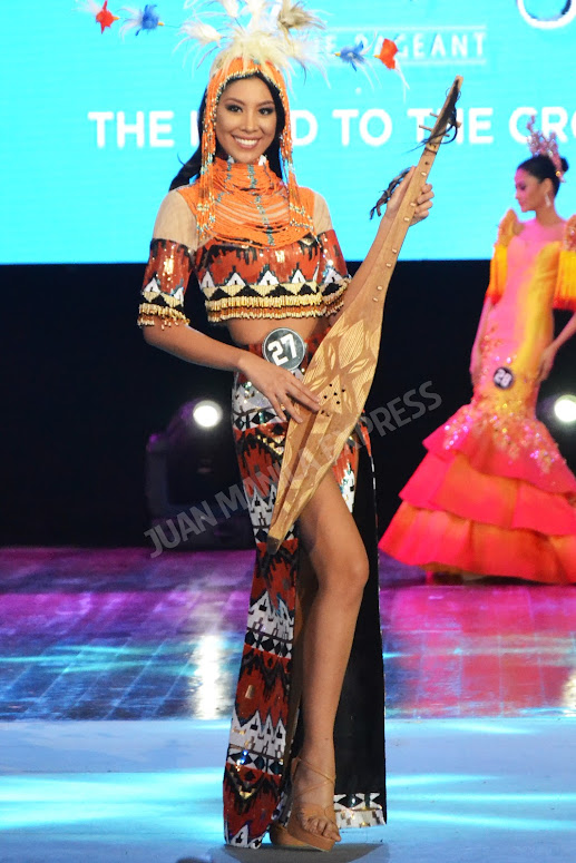 BB. PILIPINAS 2016 CANDIDATE NO. 27 DINDI JOY PAJARES DRESSED BY CHERY VERIC FOR THE NATIONAL COSTUME COMPETITION