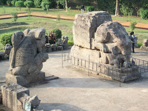 Photo: Sculptures near the Sun Temple...