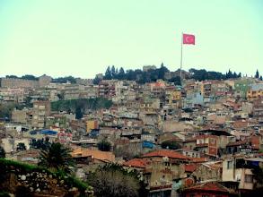 Photo: Turkish flag over every city
