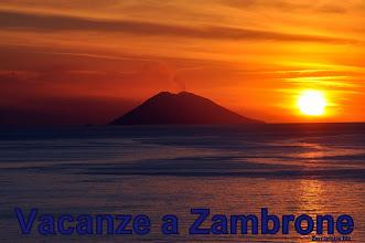 Photo: Vulcano Stromboli visto da Zambrone (VV).