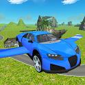 Flying SuperSport Car Sim 3D icon