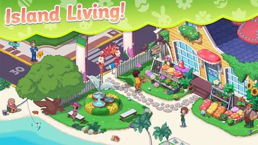 Ohana Island: Blast flowers and build  screenshots 3