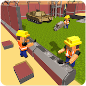 US Army Security Wall Construction Android APK Download Free By Freeze Games