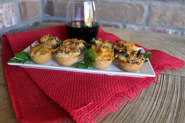 Mini Appetizer Ground Beef Pies