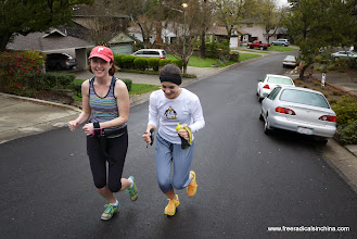 Photo: Fit ladies early morning run