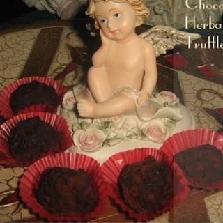 Chocolate Herbal Tea Truffles.