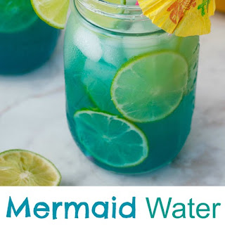 Mermaid Water Rum Punch.