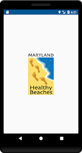 Maryland Healthy Beaches- screenshot thumbnail