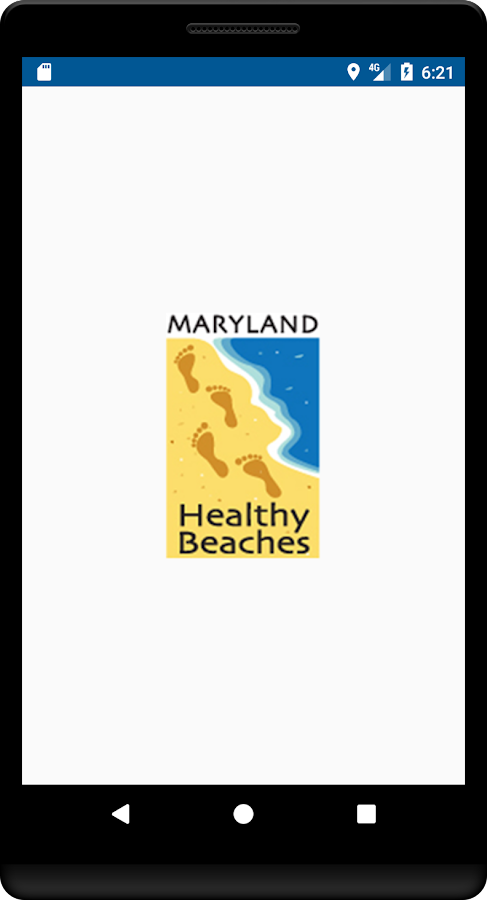 Maryland Healthy Beaches- screenshot