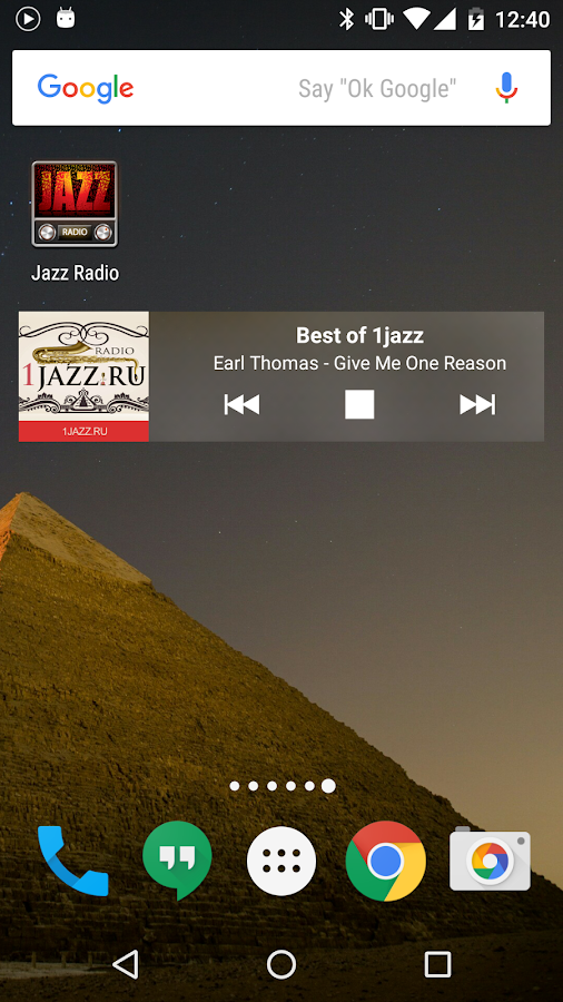 Jazz & Blues Radio- screenshot