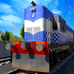 Indian Police Train Simulator Icon