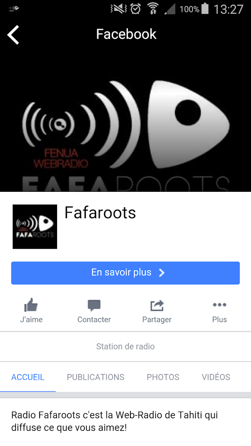 RADIO FAFAROOTS- screenshot