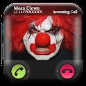 Clown Effrayant Faux Appels icon