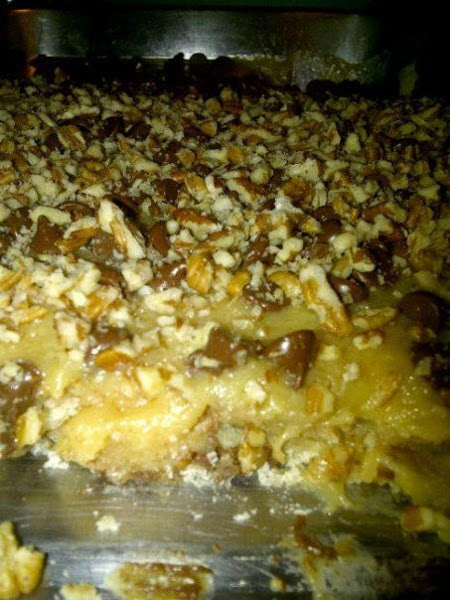 Caramel Chocolate Pecan Bars Recipe