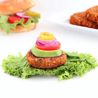 Zesty Buckwheat Burgers (Gluten Free, Vegan / Plant-based).