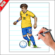 How To Draw Football Player (app)