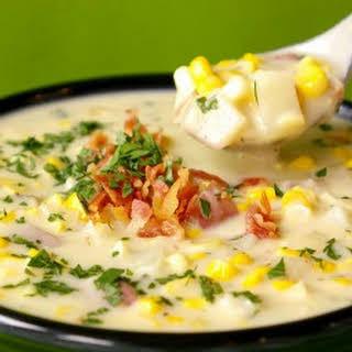 Corn And Potato Soup.