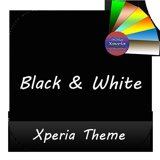 Black & White | Xperia™ Theme