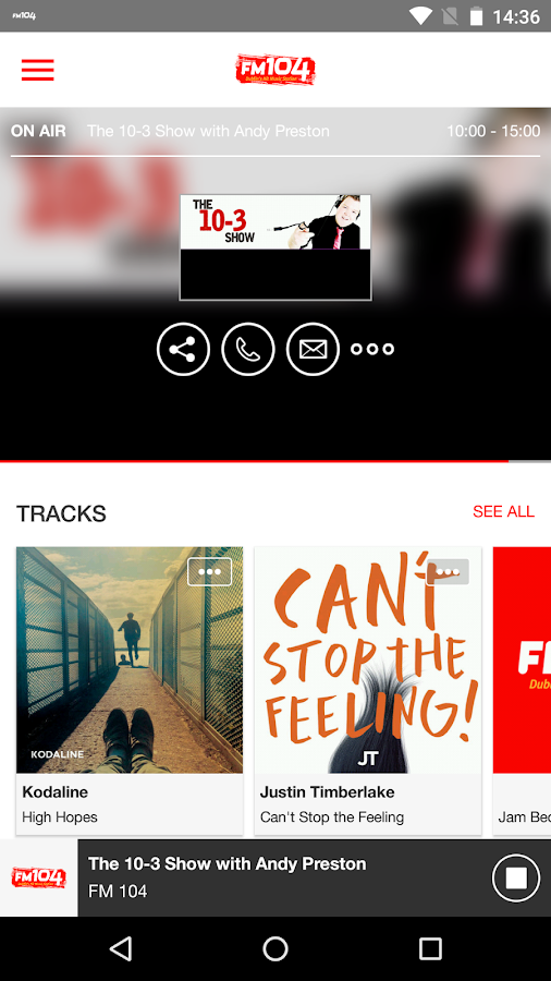Dublin's FM104- screenshot