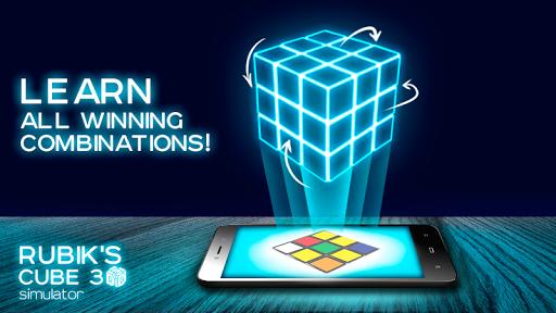 無料模拟AppのRubiks Cube 3D Simulator|記事Game