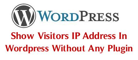 Shortcode hiển thị IP người dùng