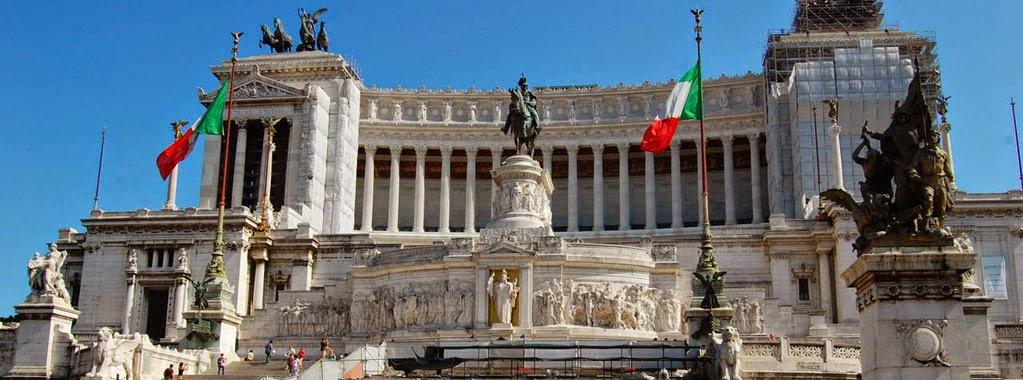 Памятник Витторио Эммануэле в Риме