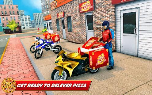 Good Pizza Delivery Boy - náhled