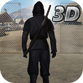 Ninja Prison Break 3D Fighting