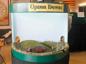 "Photo: 021 Upson Downs is the end module of one of the legs of the ""L"" layout plan ."