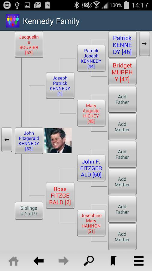 Families- screenshot
