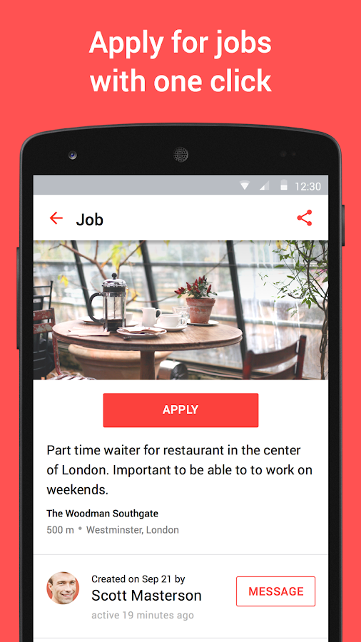 JOB TODAY – jobs in 24hrs- screenshot