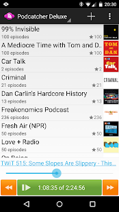 Podcatcher Deluxe- screenshot thumbnail