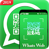 Whatscan for web - WhatsCode QR scanner Icon