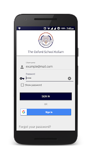 The Oxford School Kollam- screenshot thumbnail