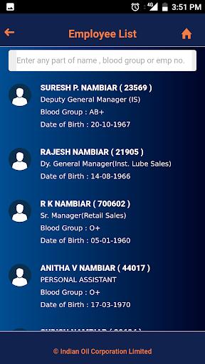 IOCL PhoneBook screenshot 5