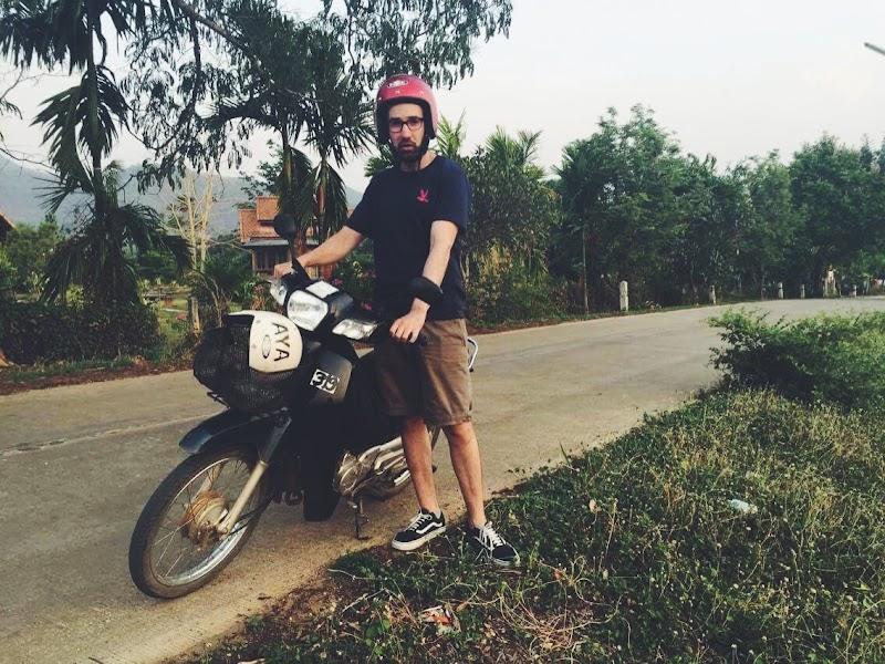 Alquilar moto Tailandia.