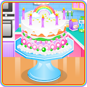 Tải Game Lovely Rainbow Cake Cooking