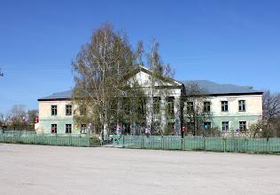 Photo: Здание бывшего Новодевиченского детского дома в день юбилея