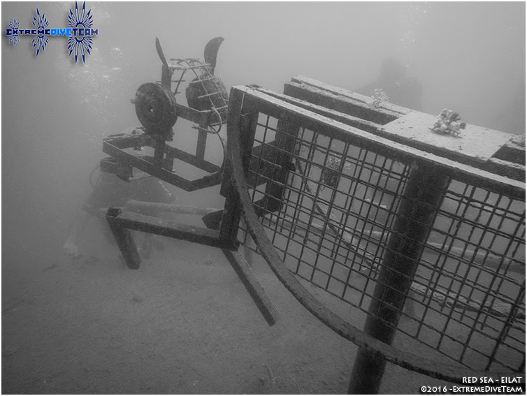 Diving in Israel � Red Sea � Wreck �SunBoat� | ������� � ������� � ������� ���� � ����������� ������� �SunBoat�