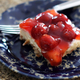 Cherry Pretzel Dessert.