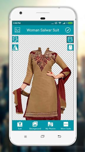 Women Salwar Suit Photo Editor screenshot 1