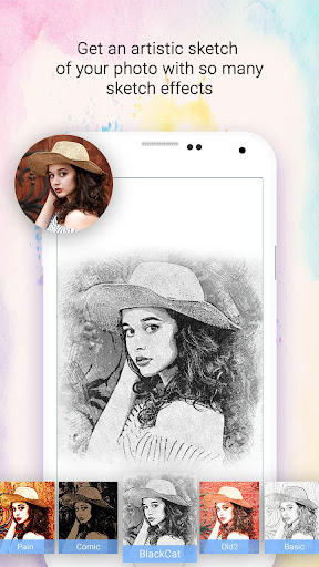 Sketch Photo Maker 1.0.21 gameplay | AndroidFC 1