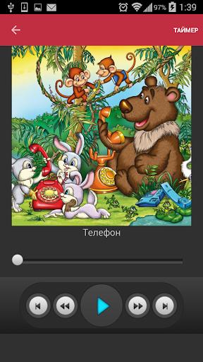 Аудиосказки Чуковского детям
